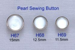 Pearl Sewing Button