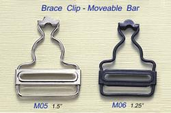 Brace Clip - Moveable Bar