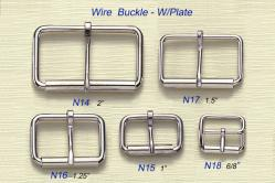 Wire Buckle-W/Plate