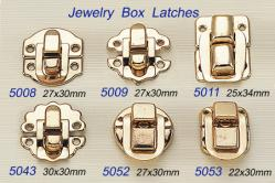 Jewelry Box Latches