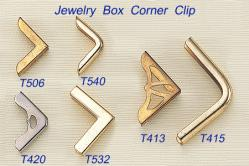 Jewelry Box Corner Clip