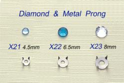 Diamond & Metal Prong