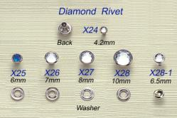 Diamond Rivet