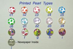 Printed Pearl Types