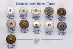 Diamond Jean Button
