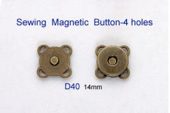 Sewing Magnetic Button-4 holes