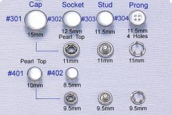 Prong Snap Button -6