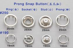 Prong Snap Button